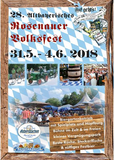 28. Rosenauer Volksfest